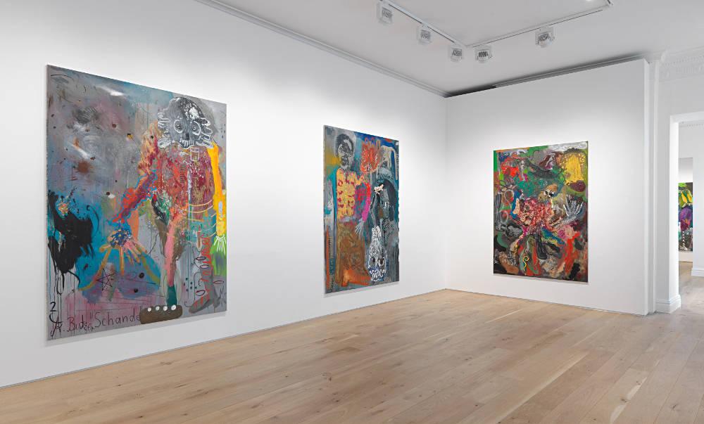 Galerie Max Hetzler London Andre Butzer 4