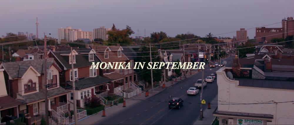 Ginte Regina, Monika in September, 2018. HD Video with sound 15 min 45 sec
