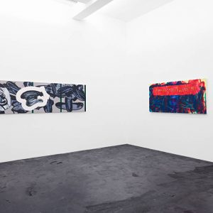 David Reed: I'm trying to get closer but I'm still a million miles from you @Häusler Contemporary, Zürich  - GalleriesNow.net