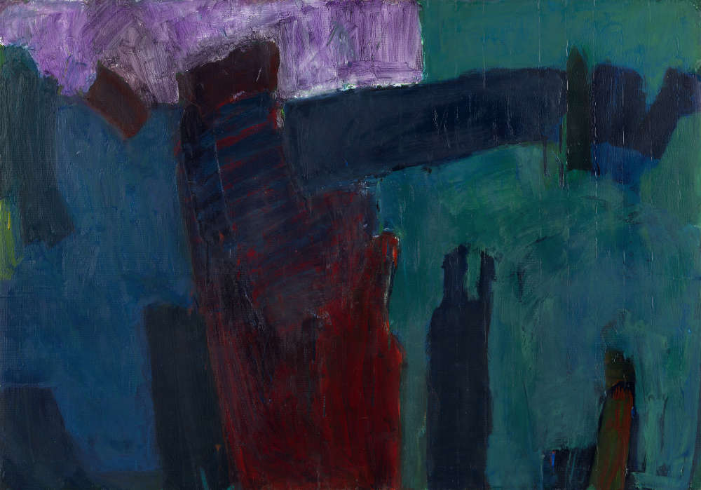 Ilse D'Hollander, Untitled, 1992-93. Mixed media on cardboard 71 x 100 cm 28 x 39 3/8 in © The Estate of Ilse D'Hollander. Courtesy The Estate of Ilse D'Hollander and Victoria Miro, London/Venice