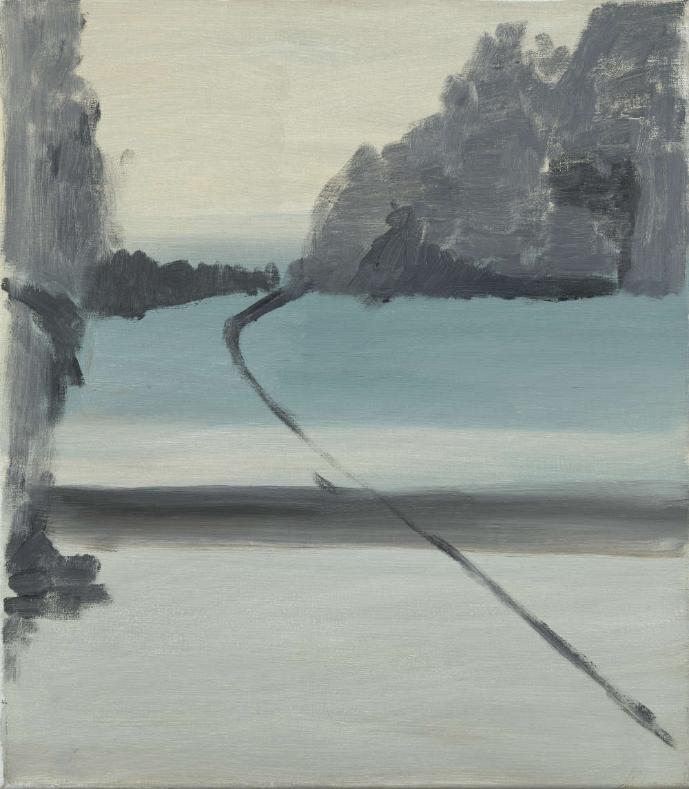 Ilse D'Hollander, Untitled, 1996. Oil on canvas 41 x 36 cm 16 1/8 x 14 1/8 in © The Estate of Ilse D'Hollander. Courtesy The Estate of Ilse D'Hollander and Victoria Miro, London/Venice