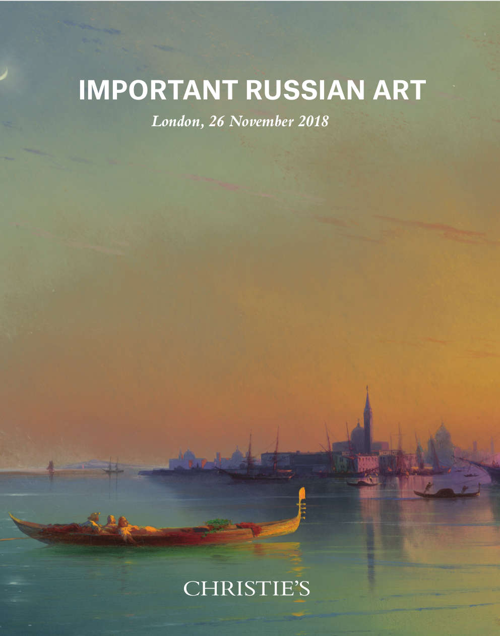 Important Russian Art Christies London