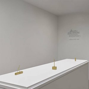 Alberto Giacometti: Intimate Immensity, Sculptures 1935-1945 @Luxembourg & Dayan New York, New York  - GalleriesNow.net