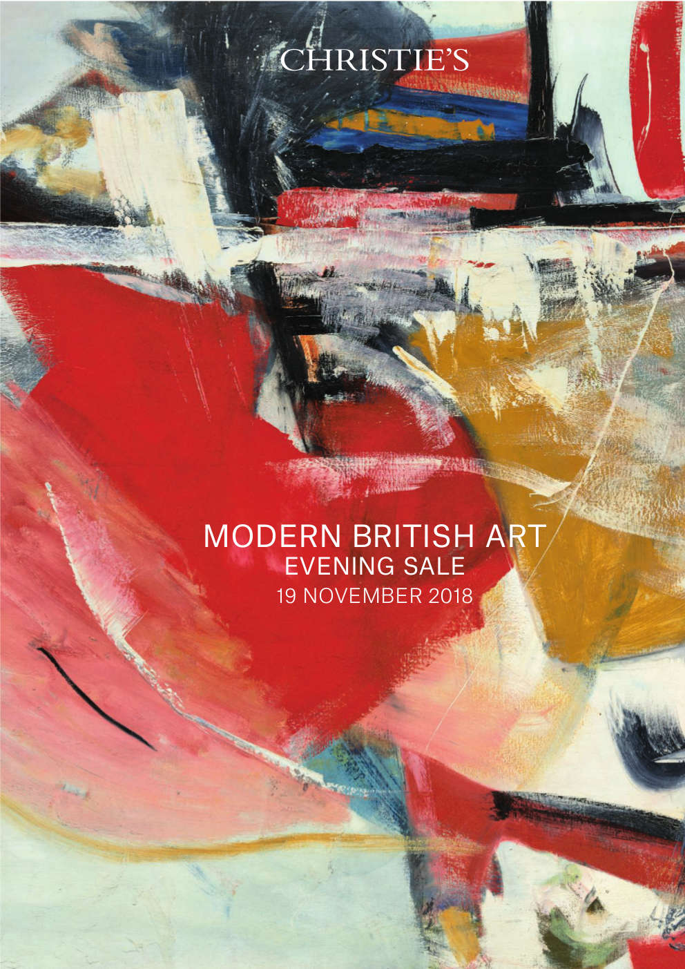 Modern British Art Evening Sale Christies London