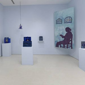Betye Saar: Something Blue @Roberts Projects, Los Angeles  - GalleriesNow.net