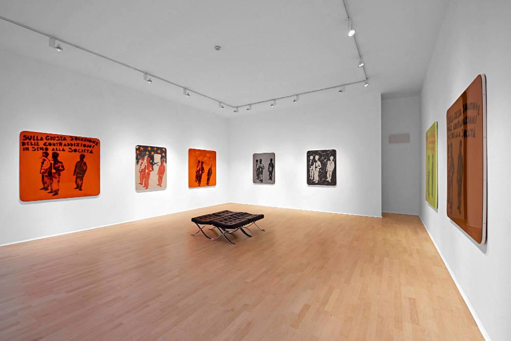 The Mayor Gallery Mario Schifano 1