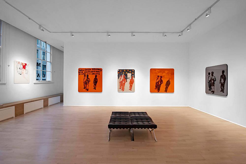 The Mayor Gallery Mario Schifano 3