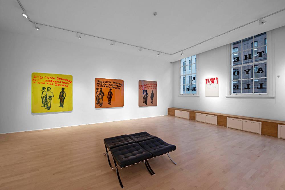 The Mayor Gallery Mario Schifano 5