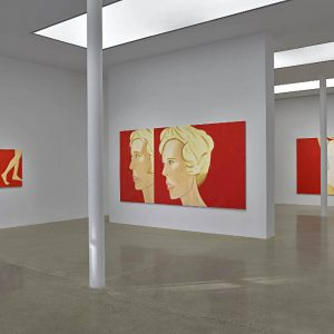 Alex Katz: Coca-Cola Girls @Timothy Taylor, London  - GalleriesNow.net