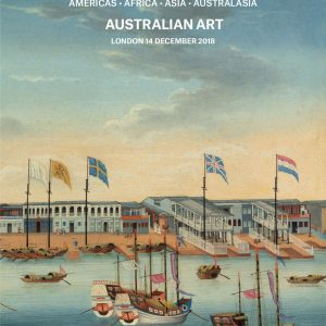 Topographical Pictures with Australian Art @Christie's London, King Street, London  - GalleriesNow.net
