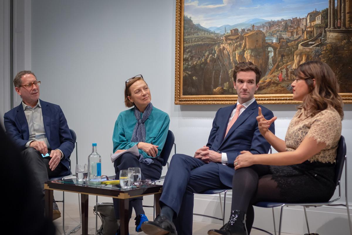 Roland Cowan, Emma Crichton-Miller, Andrew Fletcher and Nazy Vassegh