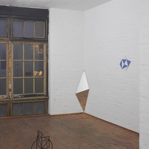 Upstairs: How I copied another man's signature for 20 years without knowing (diagonals and doubt) by Knut Henrik Henriksen @Hollybush Gardens, London  - GalleriesNow.net