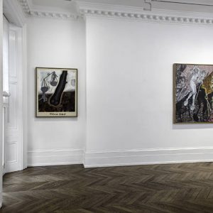 Jörg Immendorff: Questions from a Painter Who Reads @Michael Werner Gallery, Mayfair, London  - GalleriesNow.net