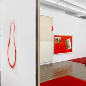 David Ostrowski: The Thin Red Line @Sprüth Magers, Grafton St., London  - GalleriesNow.net