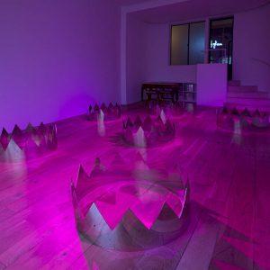 Claude Lévêque: Midnight Lightning @kamel mennour, London, London  - GalleriesNow.net