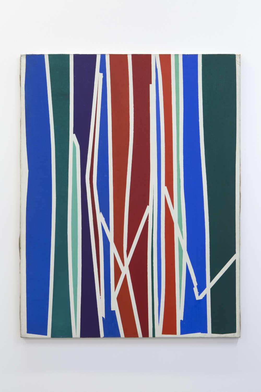 GinaPane, Sans titre (no 20), 1962-1965. Oil on canvas 146x113cm ©ADAGPGinaPane. Photo. archiveskamelmennour. Courtesy AnneMarchand and kamelmennour, Paris/London
