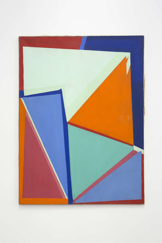 GinaPane, Sans titre (no 31), 1962-1967. Oil on canvas 80x61cm ©ADAGPGinaPane. Photo. archiveskamelmennour. Courtesy AnneMarchand and kamelmennour, Paris/London