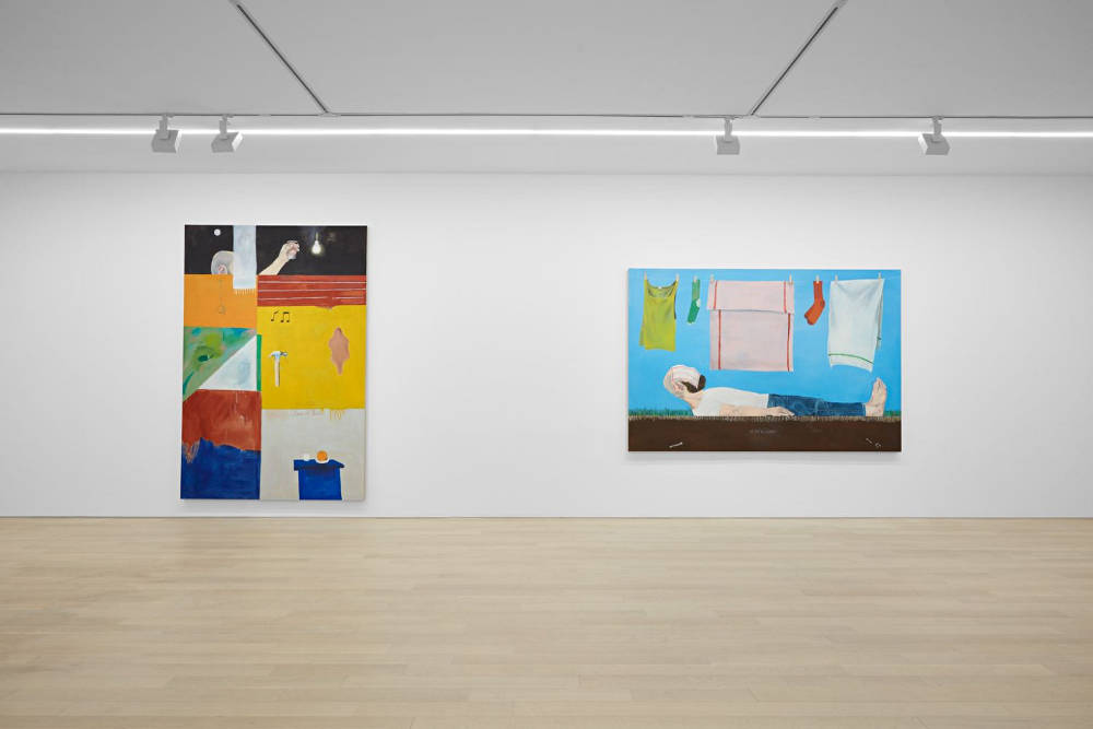 Almine Rech Gallery New York Michael Hilsman 1