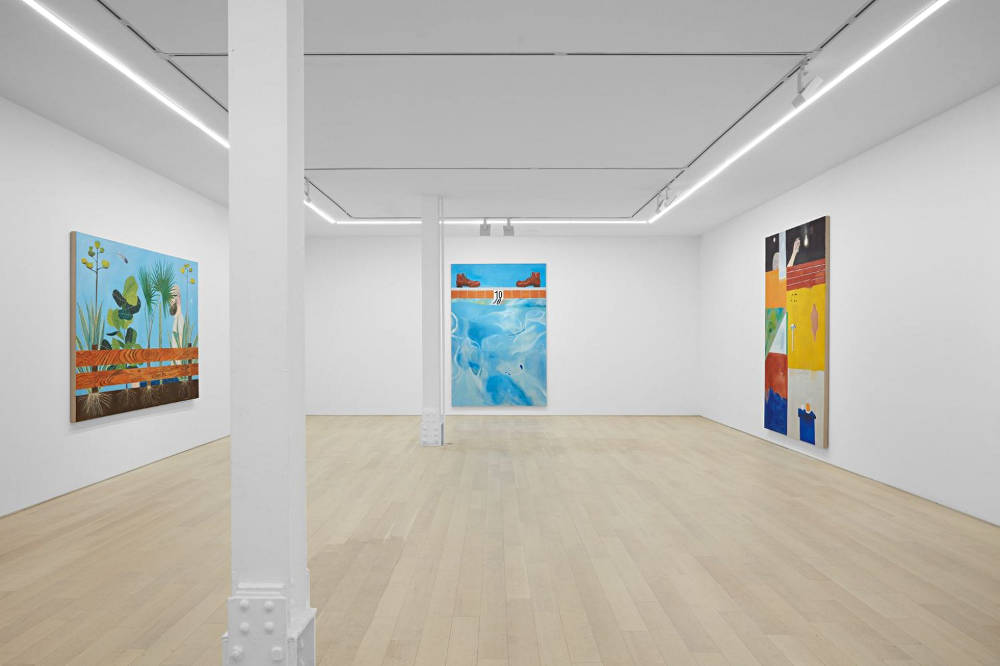 Almine Rech Gallery New York Michael Hilsman 2