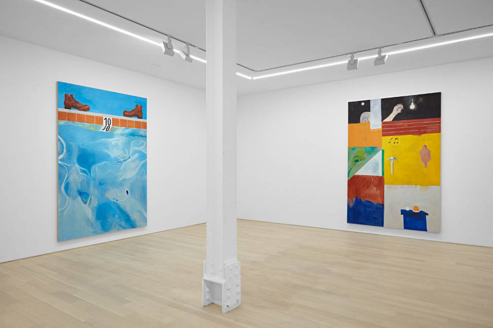 Almine Rech Gallery New York Michael Hilsman 3