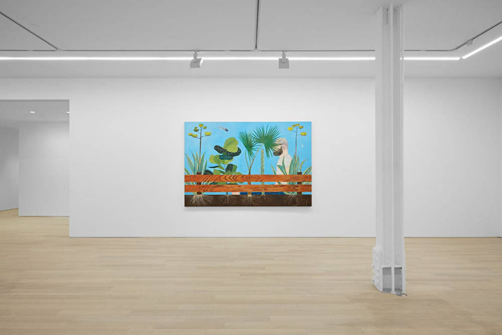 Almine Rech Gallery New York Michael Hilsman 4