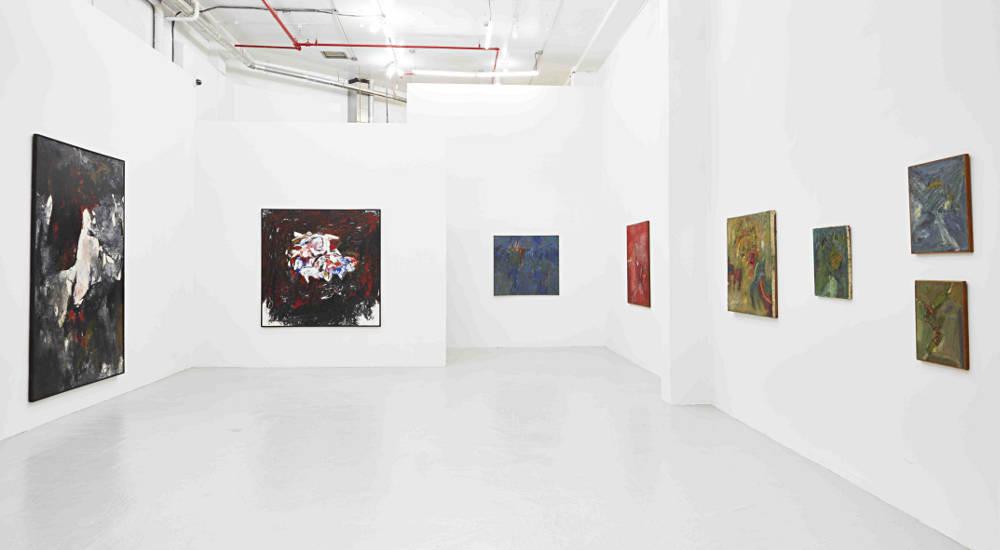 New York Gallery Abstract Art