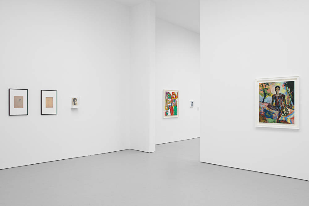 David Zwirner 19th St God Made My Face 1