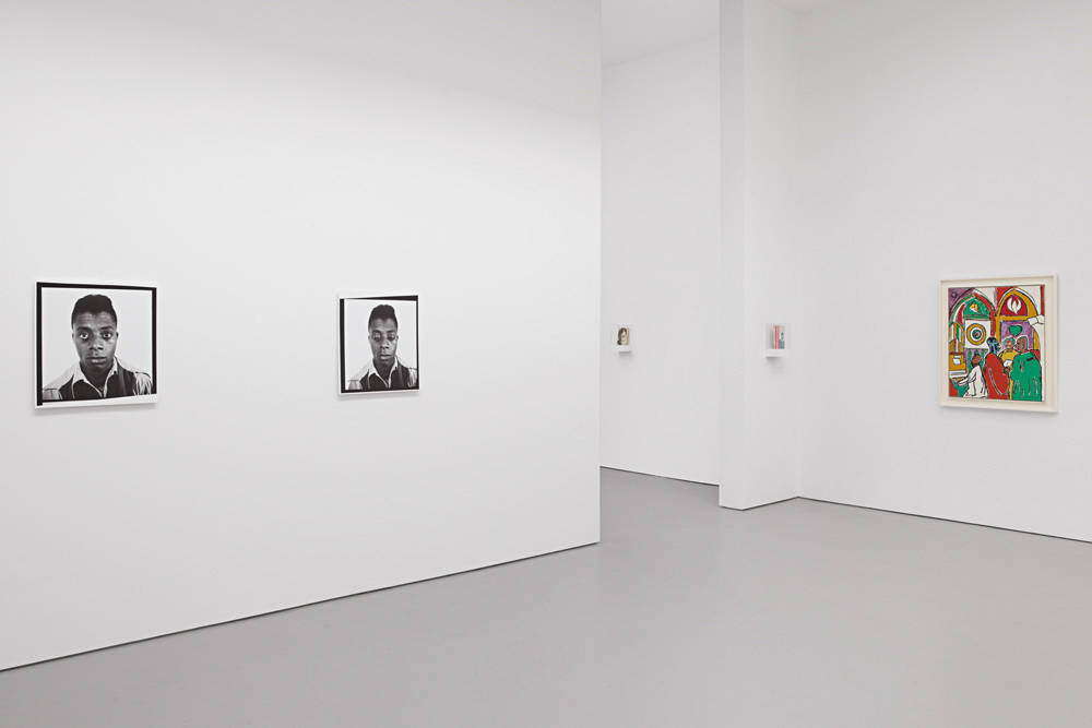 David Zwirner 19th St God Made My Face 2