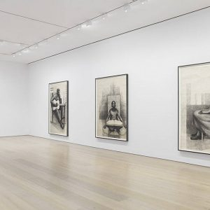 Charles White: Monumental Practice @David Zwirner 20th St, New York  - GalleriesNow.net