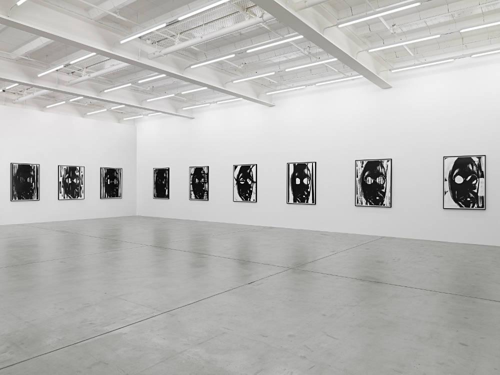 Galerie Eva Presenhuber NO THING Pope L Adam Pendleton 2