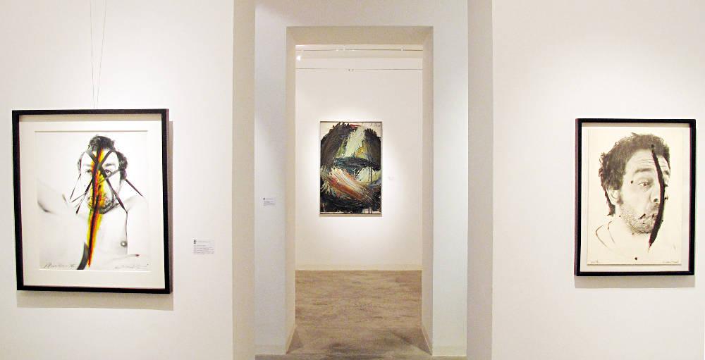 Galerie Ruberl Schwerpunkt Arnulf Rainer zum 90 Geburtstag 1