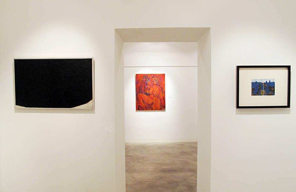 Galerie Ruberl Schwerpunkt Arnulf Rainer zum 90 Geburtstag 2