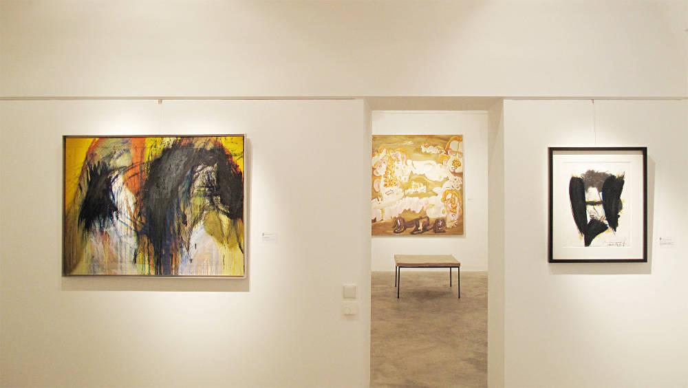 Galerie Ruberl Schwerpunkt Arnulf Rainer zum 90 Geburtstag 3