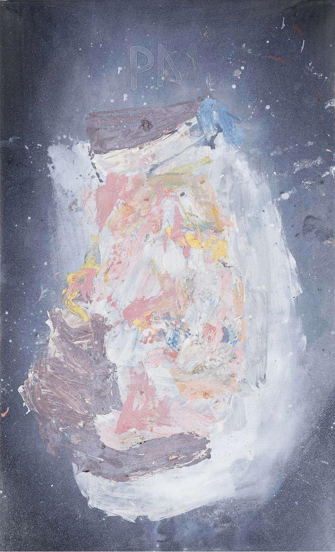 Georg Baselitz, Piet M., 2018. Oil on canvas 65 x 39 3/8 in 164.9 x 100 cm © Georg Baselitz. Photo: Jochen Littkemann. Courtesy Gagosian