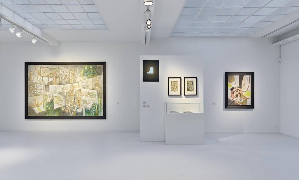 Matta   Duchamp at Galerie Gmurzynska 33d4ada49c55a