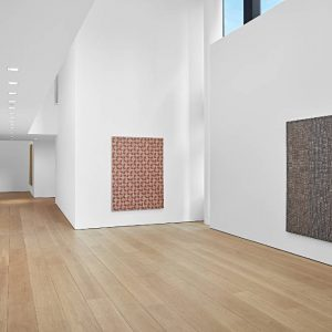 McArthur Binion: Hand:Work @Lehmann Maupin W 24 St, New York  - GalleriesNow.net