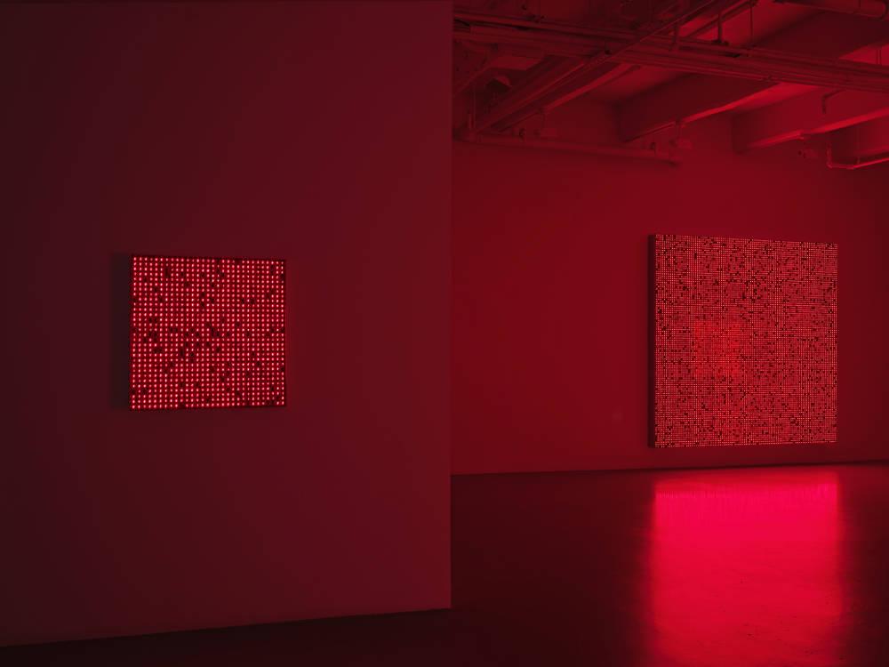 Lisson Gallery New York Tatsuo Miyajima 1