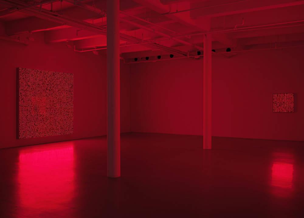 Lisson Gallery New York Tatsuo Miyajima 2