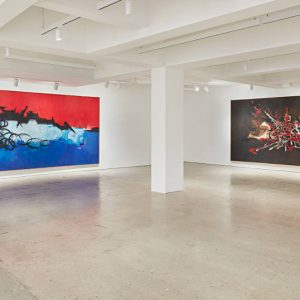 Georges Mathieu: Monumental Paintings @Nahmad Contemporary, New York  - GalleriesNow.net