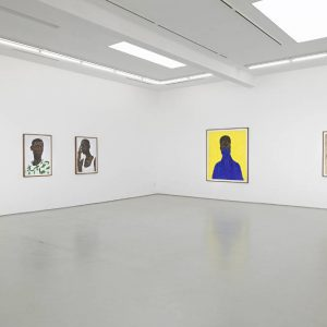 Amoako Boafo: I SEE ME @Roberts Projects, Los Angeles  - GalleriesNow.net