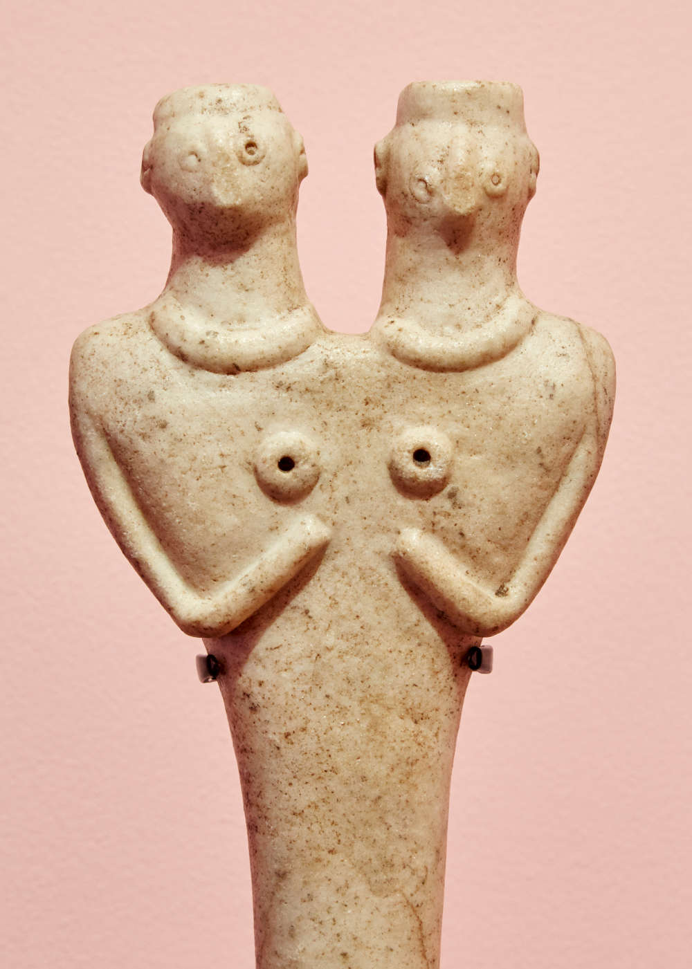 Conjoined Syrio-Hittite Sculpture, 2700 - 1500 BCE