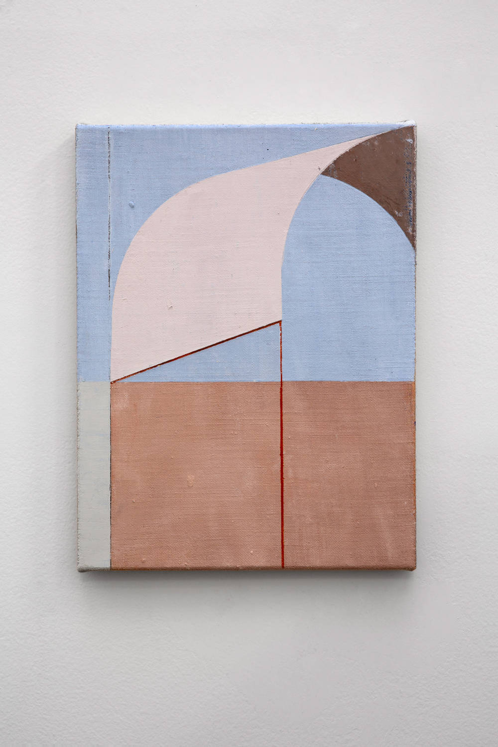 Fábio Miguez, untitled, 2019. Oil and wax on linen 35 x 27 cm 13.8 x 10.6 in