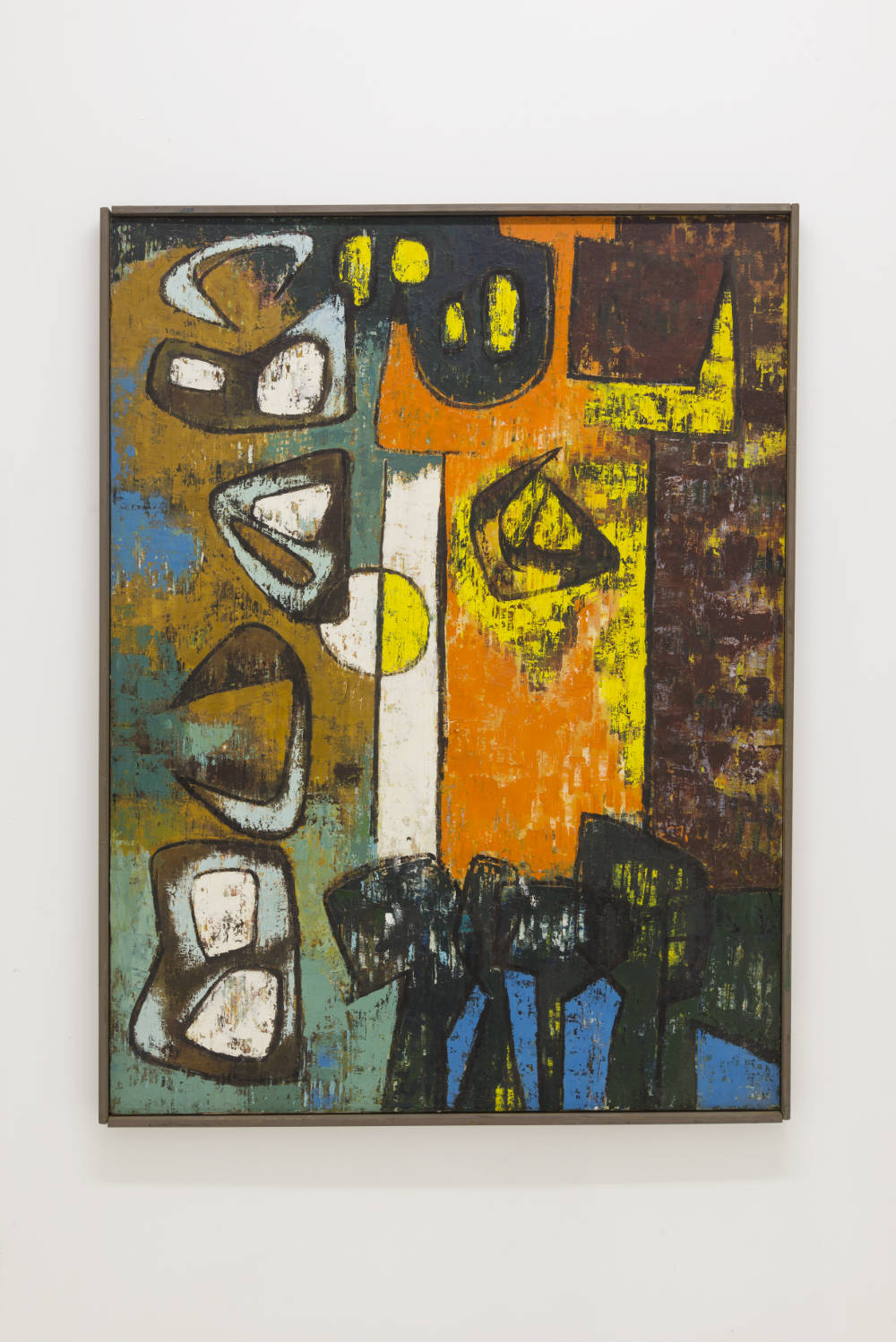 Luchita Hurtado, Untitled, 1951. Oil on canvas 101.6 x 76.2 cm / 40 x 30 inches © Luchita Hurtado. Courtesy the artist and Hauser & Wirth. Photo: Jeff McLane