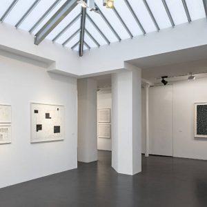 Hanns Schimansky: L'Espace de la ligne @Jeanne Bucher Jaeger, Marais, Paris  - GalleriesNow.net