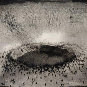 Lu Chao: Black Dots @HdM Gallery, London  - GalleriesNow.net