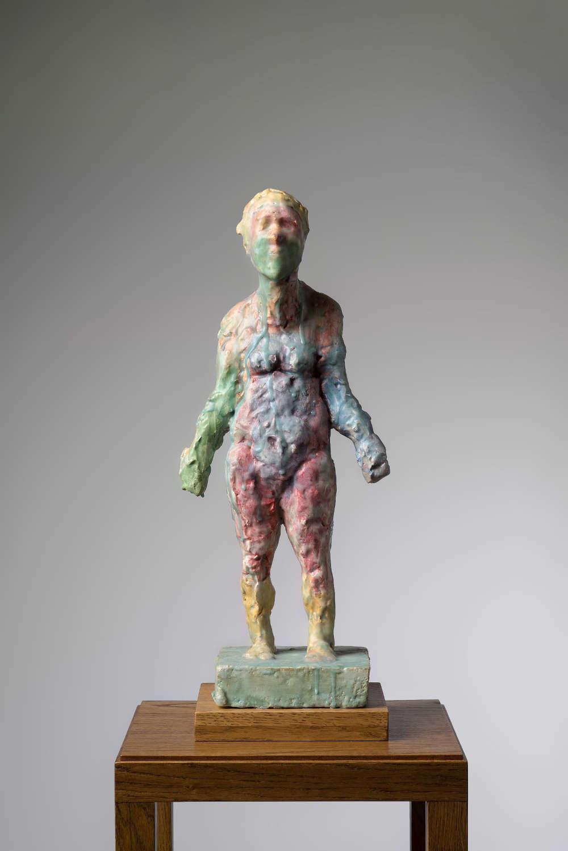 Markus Lüpertz, Akt (Nude), 2017. Plaster, wax 21 1/4 x 9 x 7 inches 54 x 23 x 18 cm