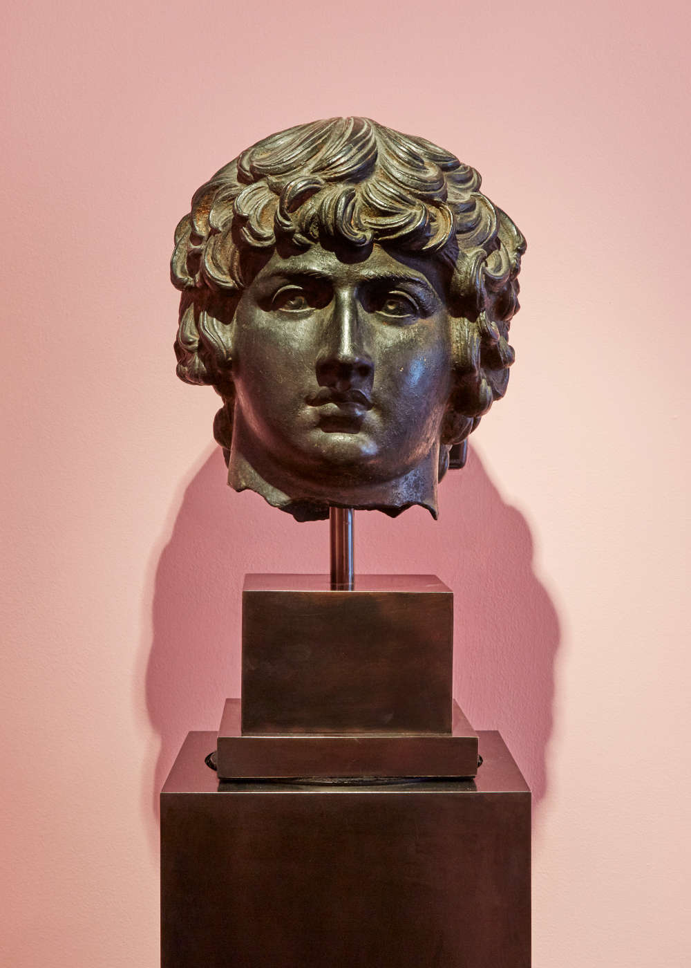 Revival Bust of Antinous, lover of Hadrian, 1700 - 1800 CE