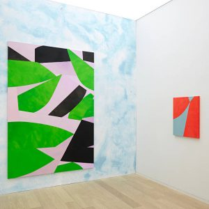 Sarah Crowner: Paintings for the Stage @Simon Lee Hong Kong, Hong Kong  - GalleriesNow.net