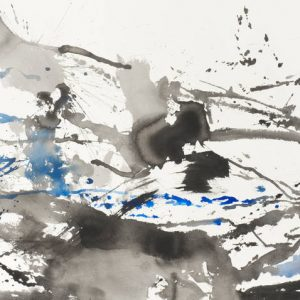Zao Wou-Ki: Inks and Watercolors (1948-2009) @kamel mennour, London, London  - GalleriesNow.net