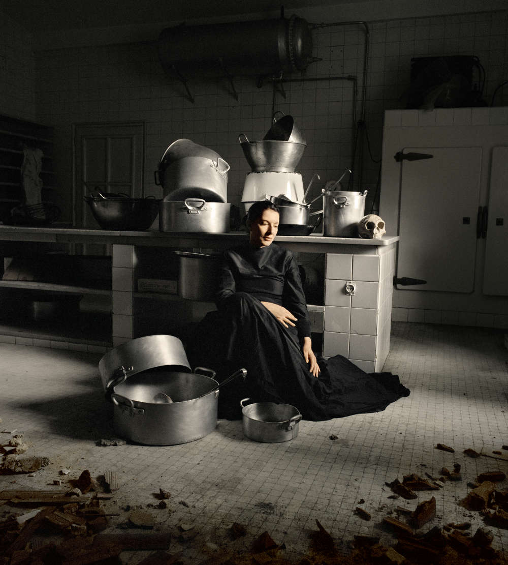 Marina Abramović, The Kitchen IV From the Series: The Kitchen, Homage to Saint Therese, 2009. Color Chromogenic Print 100 x 90 cm 39 1/4 x 35 3/8 in © Marina Abramović; Courtesy Lisson Gallery